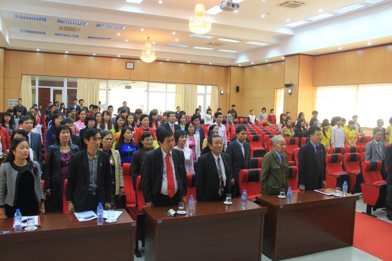 Lễ kỷ niệm 32 năm Ngày Nhà giáo Việt Nam (20/11/1982 – 20/11/2014)