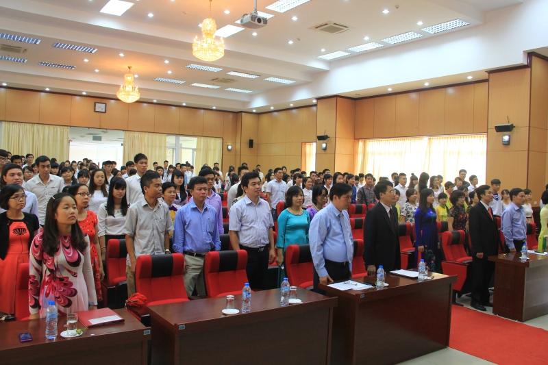 Lễ khai giảng năm học 2014 – 2015