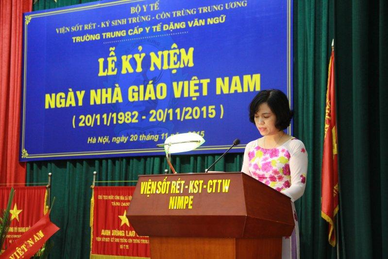 Long trọng tổ chức Lễ kỷ niệm 33 năm Ngày Nhà giáo Việt Nam